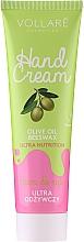 Fragrances, Perfumes, Cosmetics Nourishing & Protection Hand Cream - Vollare Cosmetics De Luxe Hand Cream Ultra Nutrition