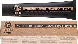 Fragrances, Perfumes, Cosmetics Natural Whitening Charcoal Toothpaste - Mohani Smile Whitening Charcoal Toothpaste