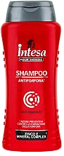 Fragrances, Perfumes, Cosmetics Anti-Dandruff Shampoo - Intesa Silver Anti Dandruff Shampoo