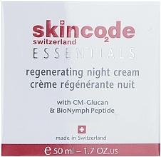 Fragrances, Perfumes, Cosmetics Replenishing Night Cream - Skincode Essentials Regenerating Night Cream