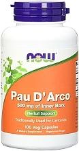 "Fragrances, Perfumes, Cosmetics Capsules ""Ant Tree Bark"" 500 mg - Now Foods Pau D'Arco"