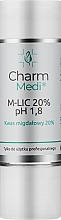 Fragrances, Perfumes, Cosmetics Almond Acid 20% - Charmine Rose Charm Medi M-Lic 20% pH 1.8