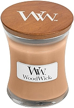 Fragrances, Perfumes, Cosmetics Scented Candle in Glass - WoodWick Golden Milk
