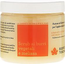 Fragrances, Perfumes, Cosmetics Body Scrub - Biofficina Toscana Melissa Body Scrub