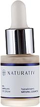 Fragrances, Perfumes, Cosmetics Eye Serum - Naturativ ecoAmpoule 5 Eye Serum