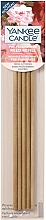 Fragrances, Perfumes, Cosmetics Fragranced Reed Diffusers Refill - Yankee Candle Fresh Cut Roses Pre-Fragranced Reed Refill