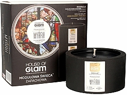 Fragrances, Perfumes, Cosmetics Scented Candle - House of Glam Frankincense Myrrh Candle
