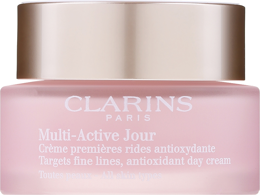 Day Cream for All Types of Skin - Clarins Multi Active Antioxidant Day Cream All Skin Type