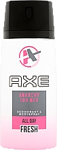 Fragrances, Perfumes, Cosmetics Women Antiperspirant - Axe Anarchy Deo Spray For Her