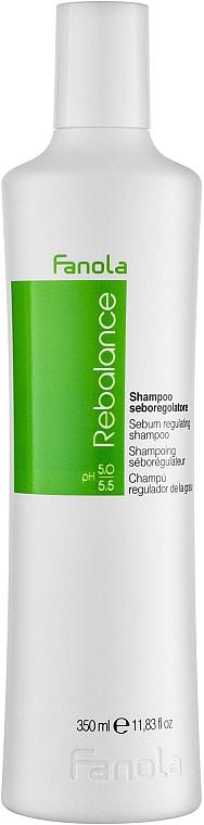 Oily Scalp Shampoo - Fanola Rebalance Anti-Grease Shampoo