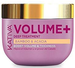 Fragrances, Perfumes, Cosmetics Volume Hair Mask - Kativa Volume+ Bamboo & Acacia Mask