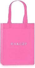 "Fragrances, Perfumes, Cosmetics Shopping Bag, pink ""Springfield"" - MakeUp Eco Friendly Tote Bag"