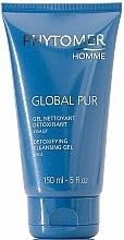 Fragrances, Perfumes, Cosmetics Cleansing Gel - Phytomer Homme Global Pur Detoxifying Cleansing Gel