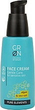 Fragrances, Perfumes, Cosmetics Face Cream - GRN Pure Elements Algae & Sea Salt Face Cream