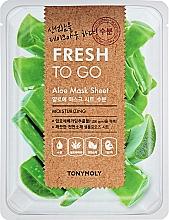 Fragrances, Perfumes, Cosmetics Refreshing Aloe Sheet Mask - Tony Moly Fresh To Go Mask Sheet Aloe