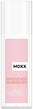 Fragrances, Perfumes, Cosmetics Mexx Whenever Wherever For Her - Deodorant Spray