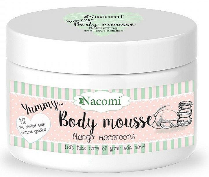 "Body Mousse ""Mango Macaroon"" - Nacomi Body Mousse"