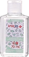 Fragrances, Perfumes, Cosmetics Antibacterial Hand Gel - Apsolvis Pure Solution