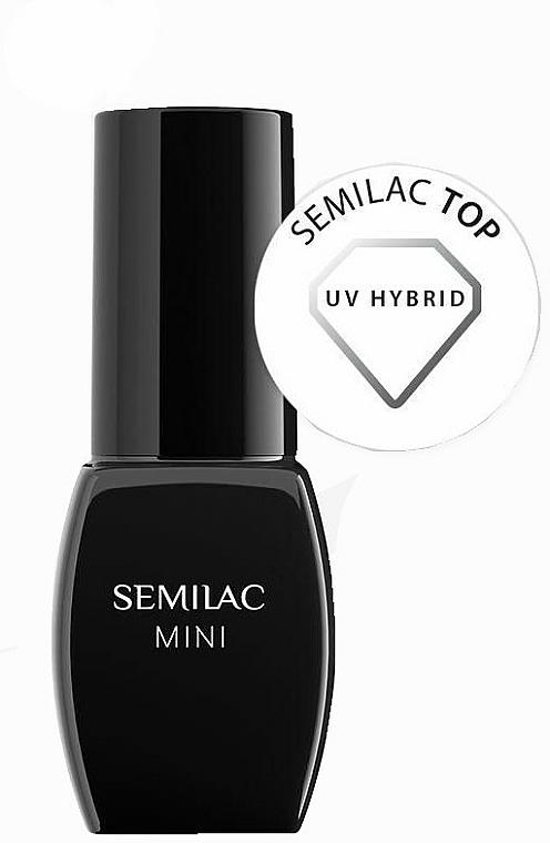 Set - Semilac Hybrid Manicure Set (lamp + n/base/3ml + n/top/3ml + n/polish/3ml + n/cl/50ml + n/aceton/50ml + n/rem/wraps/50pc + n/pads/200pc + n/file/1pc + n/sticks/10pc) — photo N3
