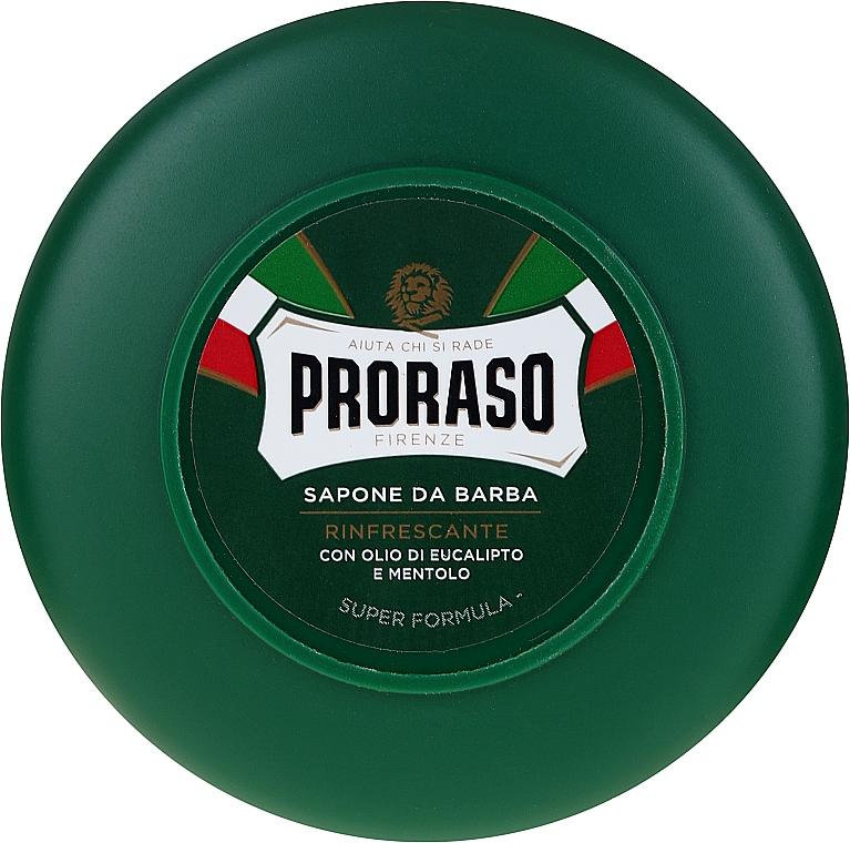 Shaving Soap with Menthol and Eucalyptus - Proraso Green Shaving Soap
