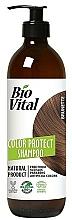 Fragrances, Perfumes, Cosmetics Brown Hair Shampoo - DeBa Bio Vital Colour Revive Brunette