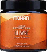"""Fragrances, Perfumes, Cosmetics Face & Body Butter """"Olive"""" - Mohani Olive Rich Batter"""