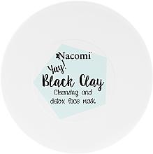 Fragrances, Perfumes, Cosmetics Clay Face Mask - Nacomi Black Clay