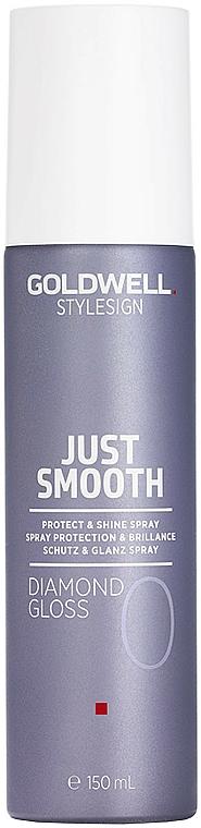 Protective Shine Hair Spray - Goldwell Style Sign Just Smooth Diamond Gloss Protect & Shine Spray