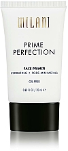 Fragrances, Perfumes, Cosmetics Moisturizing Face Primer - Milani Prime Perfection Hydrating Pore Minimizing Face Primer