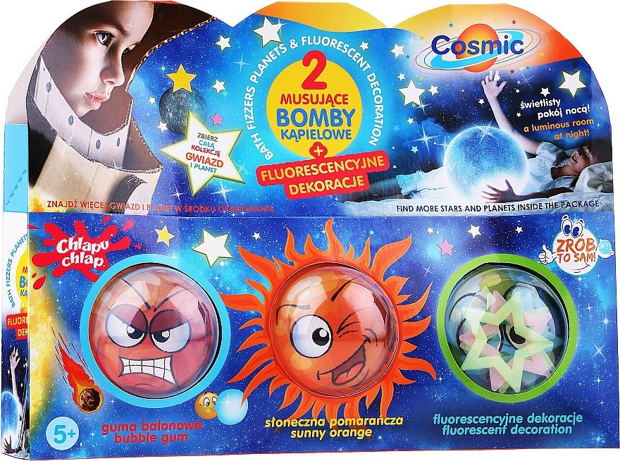 "Bath Bomb Set ""Do It Yourself. Cosmic Bath Bomb"" - Chlapu Chlap"