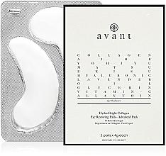 Fragrances, Perfumes, Cosmetics Collagen Eye Pads - Avant Advanced Pack-Hydra-Bright Collagen Eye Restoring Pads