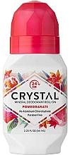 Fragrances, Perfumes, Cosmetics Pomegranate Scented Roll-On Deodorant - Crystal Essence Deodorant Roll-On Pomegranate