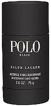 Fragrances, Perfumes, Cosmetics Ralph Lauren Polo Black - Deodorant-Stick