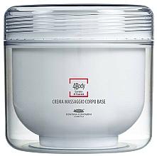Fragrances, Perfumes, Cosmetics Massage Body Cream - Fontana Contarini 4Body Base Massage Cream