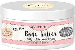Fragrances, Perfumes, Cosmetics Almond & Vanilla Body Butter - Nacomi Body Butter Fluffy Vanilla Creme Brulee