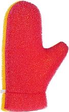 "Fragrances, Perfumes, Cosmetics Massage Glove ""Aqua"", 6021, yellow-pink - Donegal Aqua Massage Glove"