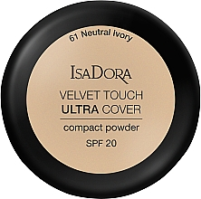 Fragrances, Perfumes, Cosmetics Face Powder - IsaDora Velvet Touch Ultra Cover Compact Powder SPF 20