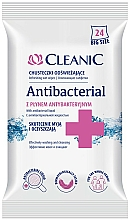 Fragrances, Perfumes, Cosmetics Antibacterial Wipes, 24 pcs - Cleanic Antibacterial Wipes