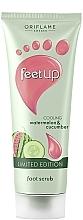 Fragrances, Perfumes, Cosmetics Cooling Watermelon & Cucumber Foot Scrub - Oriflame Feet Up Scrub