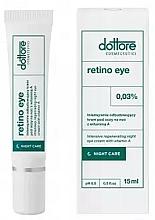 Fragrances, Perfumes, Cosmetics Intensive Repair Vitamin A 0,3% Night Eye Cream - Dottore Retino Eye