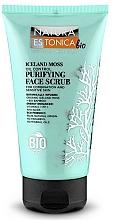 "Fragrances, Perfumes, Cosmetics Cleansing Face Scrub ""Iceland Moss"" - Natura Estonica Iceland Moss Face Scrub"