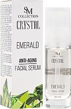 Fragrances, Perfumes, Cosmetics Emerald Face Serum - SM Collection Crystal