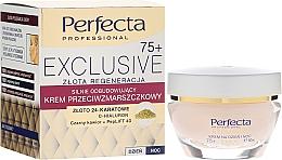 Fragrances, Perfumes, Cosmetics Anti-Wrinkle Restorative Cream - Perfecta Exclusive Face Cream 75+