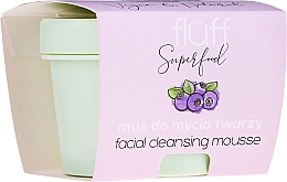 Fragrances, Perfumes, Cosmetics Cleansing Face Mousse - Fluff Facial Cleansing Mousse Wild Blueberry