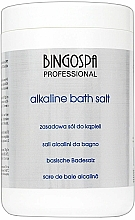 Fragrances, Perfumes, Cosmetics Alkaline Bath Salt - BingoSpa Alkaline Bath Salt