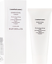 Fragrances, Perfumes, Cosmetics Cleansing Facial Scrub - Comfort Zone Essential Scrub