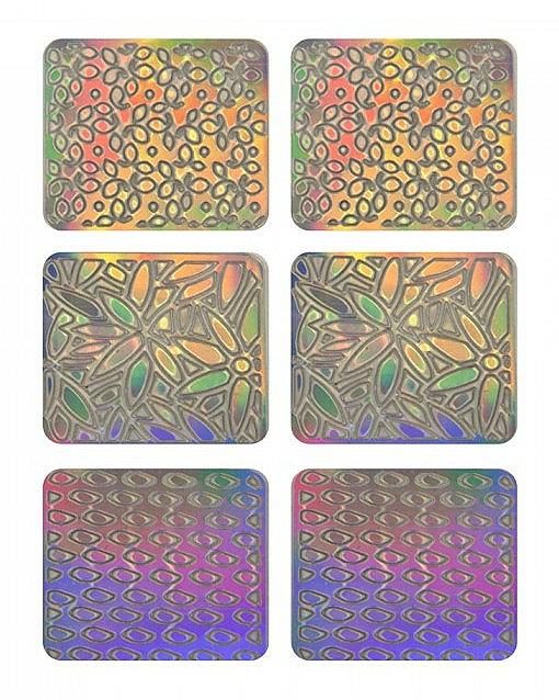 Nail Art Stickers, 3704 - Neess Patternness