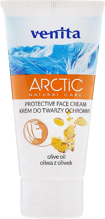 Protective Face Cream with Olive Oil - Venita Arctic Protective Face Cream Olive Oil