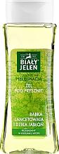 Fragrances, Perfumes, Cosmetics Plantain & Wild Apple Shower Gel - Bialy Jelen Plantain And Wild Apple Tree Shower Gel