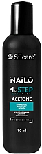 Fragrances, Perfumes, Cosmetics Gel Polish Remover - Silcare Nailo Aceton 1st Step Nail Care
